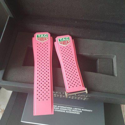 Tag Heuer Connected Modular 45mm Straps with Logo For Sale