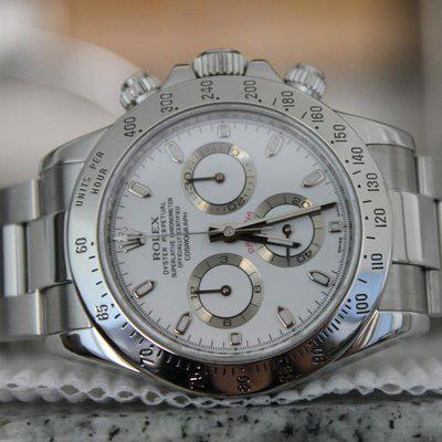 """FS: Rolex 116520 White Daytona """"APH Error Dial"""" With Box and Papers! APH DIAL LOOK!!!"""
