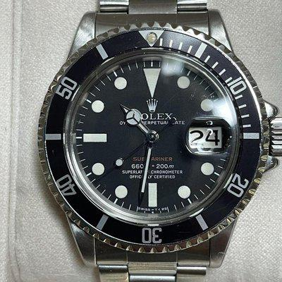 """FSOT: 1972 Rolex Submariner 1680 """"Red"""" with collector's set!"""