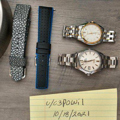 [WTS] 20mm Straps - Hirsch Robby and Cascadia Stingray $99 shipped Conus for BOTH