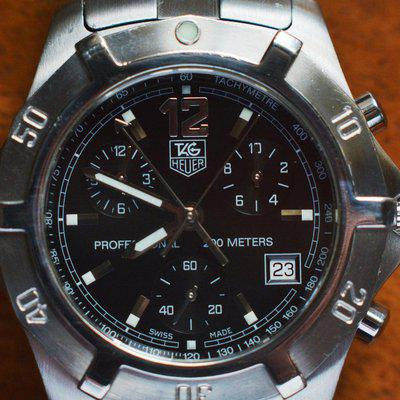 [WTS] TAG HEUER CHRONOGRAPH 2000 Exclusive FULL KIT CN1110 pre Aquaracer on Bracelet Pressure Tested 🔥 $550 OBO Shipped🔥