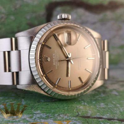 Rolex Oyster Perpetual Datejust ref 1603 Ghost Dial