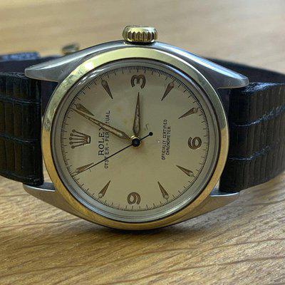 FSOT Serviced 1953 Rolex Oyster Perpetual Pre-Explorer $2995 Paypal Accepted