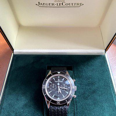 FS: Jaeger-LeCoultre Tribute to Deep Sea Chronograph Box and Papers
