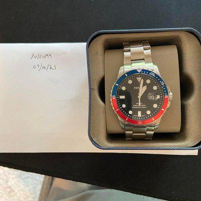 """[WTS] Fossil FB-01 + free Casio World Time """"Royale"""""""