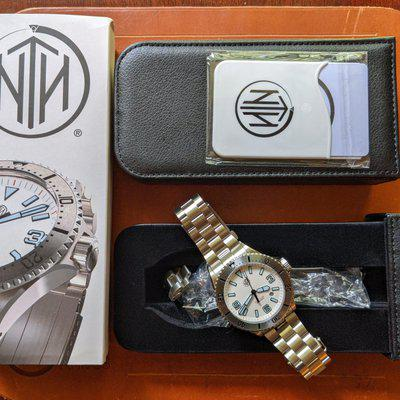 $$One last Reduction$$ NTH Swiftsure White Dial
