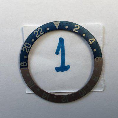 FS: Rolex 1675 Pepsi Mega Fat Font Insert,  Red Back, Faded. # 1. New Price Reduction