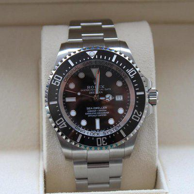 FS: BRAND NEW / BNIB 2021 Rolex 126660 Sea Dweller Deepsea WITH BOXES + PAPERS WOW!!