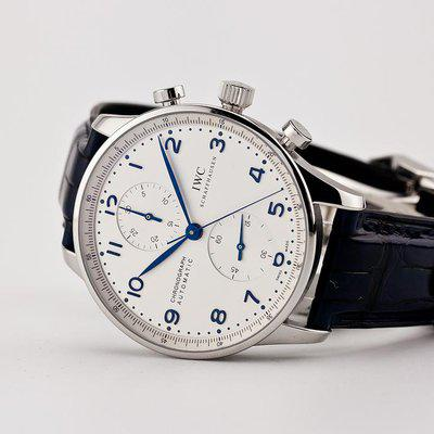 fsot - IWC Portuguese Chronograph - NEW In-House Movement - IW371605 ( new / 2020 )
