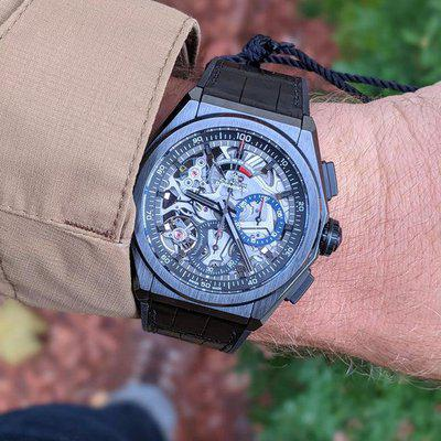 [WTS] Brand New Zenith Defy 21 Black Ceramic from AD - $7999