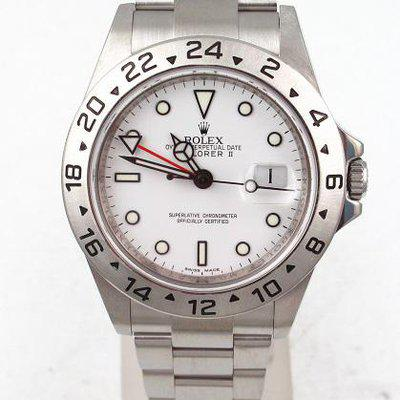 FS:Rolex Explorer II With 3186 Movement, Polar White Dial And Oyster Band Model#16570