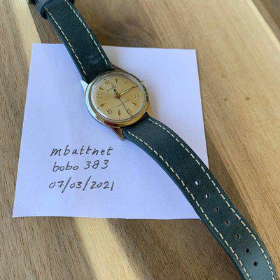 [WTS] Benrus 3061 34mm Manual Wind
