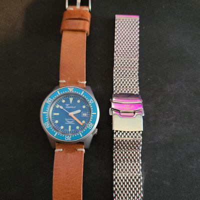 [WTS] Squale 1521 Matte Blue with additional Squale mesh bracelet