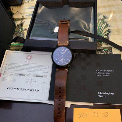 FS: Christopher Ward C8 Power Reserve 5 Days COSC now 1750$ now