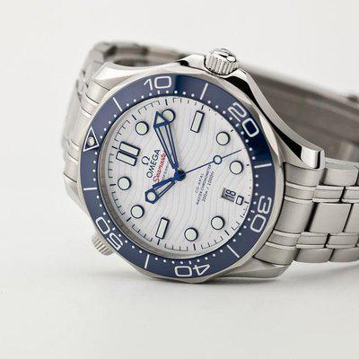 fsot - Omega Seamaster 300 - Tokyo Special Edition White & Blue ( excellent / 2021 )