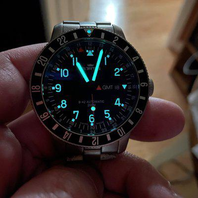 WTS - Fortis B-42 Official Cosmonauts GMT complete set