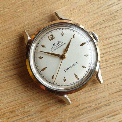 SOLD - 1950s Mido Multifort Superautomatic Powerwind