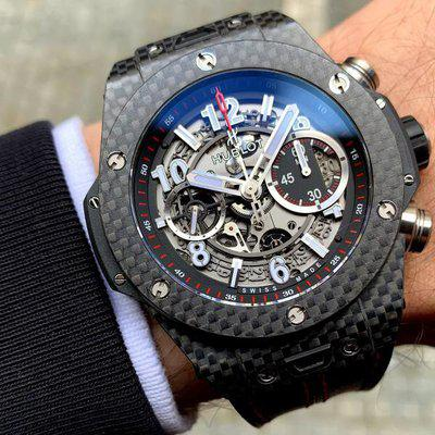FS: Hublot Big Bang UNICO Carbon Fiber Skeleton 45mm