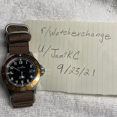 [WTS] Glycine Combat Sub 42mm GL0090 (Root Beer) Pre-Owned Condition $250 Shipped
