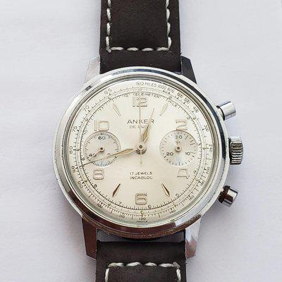 [WTS] Anker Chronograph, German Company - Swiss made, Valjoux 7733, a very clean watch