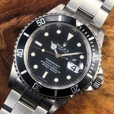 FS: 2005 D Serial Rolex Submariner Date 16610 w/ Papers