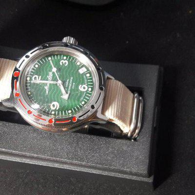 [WTS] NEW Vostok Green Wave 420348
