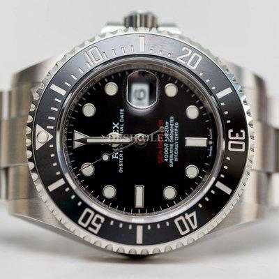 FSOT: BNIB Rolex Seadweller SD43 126600 Red Dial Stainless Steel 2021 FULL SET