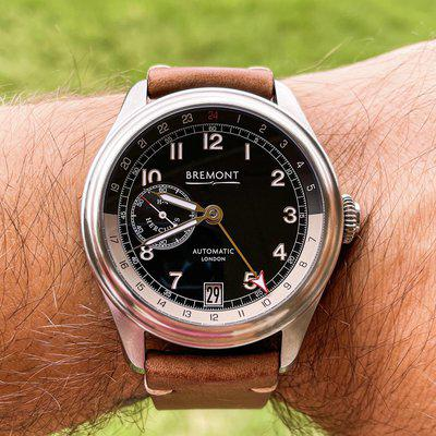 """WTS Bremont H-4 Hercules GMT Steel """"Spruce Goose"""""""