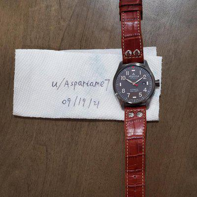 [WTS] Alpina Startimer Automatic 44mm Al-525G4TS6B with Extras