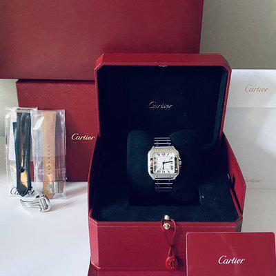 [WTS/WTT] Cartier Santos (Medium) with All the Fixings