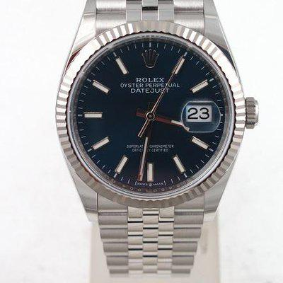 FS:Rolex Stainless New Old Stock Datejust 36mm Blue Dial Jubilee Band Model#126234