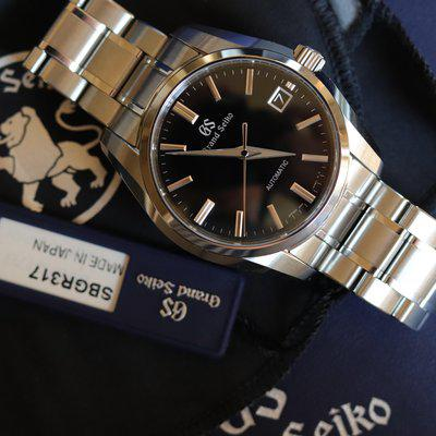 [WTS] Grand Seiko SBGR317 Black Dial Full Kit Purchased Directly from Seiko