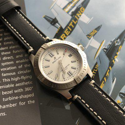 FSOT : Breitling Colt 41 A17313 White/ Silver Dial