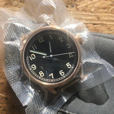 Bronze Field Automatic Watch + Sapphire Back by Maratac