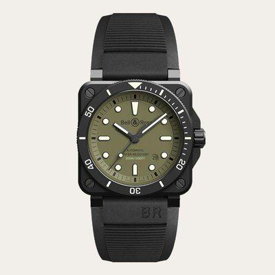 FS: BELL AND ROSS Limited Edition BR 03-92 Diver Military 42mm BR0392-D-KA-CE/SRB - US$4258. Authentic and Brand New.