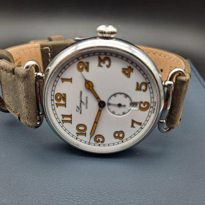 SOLD: Longines Heritage 1918 Automatic L2.809.4 Date