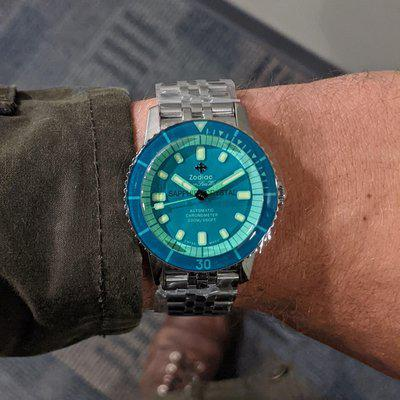 [WTS] Limited Edition Zodiac Sea Wolf - COSC Certified - $1525