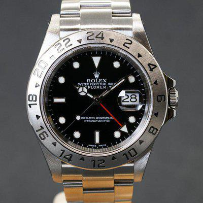 FS: Rolex Explorer II Ref. 16570 with Papers circa 2002