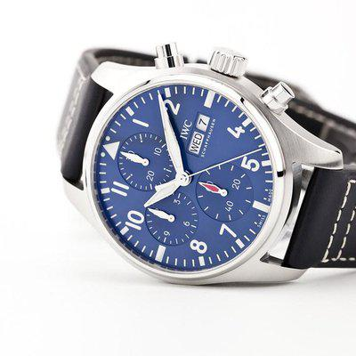 fsot - IWC Pilot Chronograph - 41 - Blue - In-House Movement IW388101 ( new / 2021 )