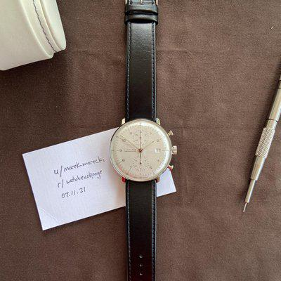 [WTS] Junghans Max Bill Chronoscope 027/4502.00 - fantastic condition