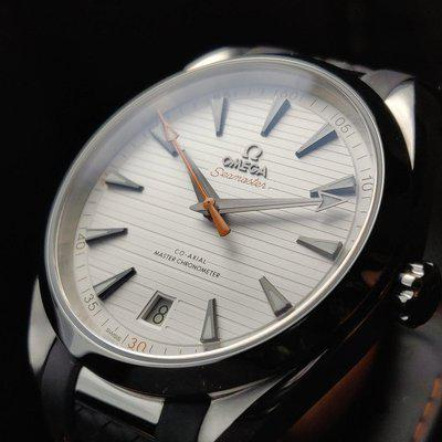 [WTS][USA][Omega] Aqua Terra Golf Edition (220.12.41.21.02.002) White Dial with 🍊 Orange Accents (PRICED TO SELL)
