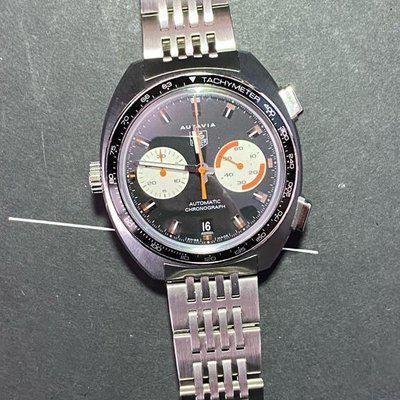 FS: Tag Heuer Autavia CY2111 2003 Calibre 11 Reissue just serviced mint condition $3249