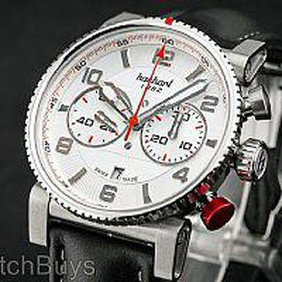 SOLD Hanhart Primus Racer Silver Dial Priced to Sell!!