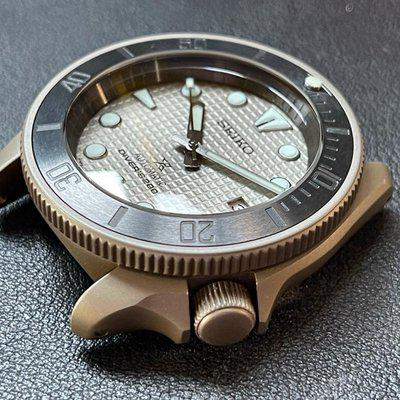 FS: Custom Seiko based build with khaki/olive case, NH36, ceramic insert, sapphire crystal, and oem Sumo dial