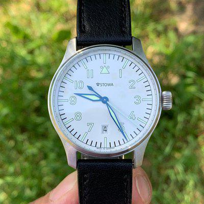 [WTS] Stowa Flieger 40mm Auto $600 White Dial