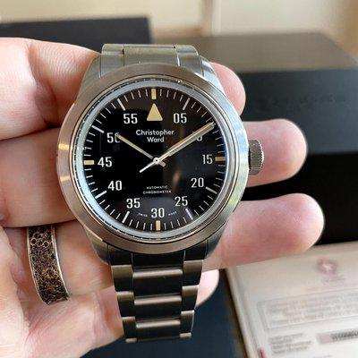 FS: Christopher Ward C65 Cranwell COSC Excellent Condition on Bracelet, REDUCED!