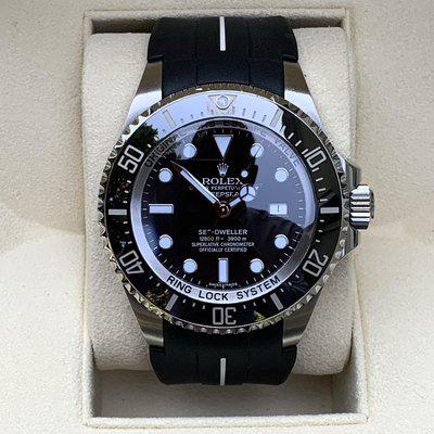 FS: Rolex Sea Dweller Deep Sea 116660 Box and Papers Rubber B Extra MINTY!!!