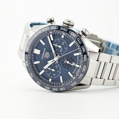 fsot - Tag Heuer Carrera Chronograph - New Release - Calibre 02 - Blue (new / 2020)
