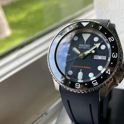 [WTS] Ultimate Seiko SKX007 Mod - Sapphire, Steel Chapter Ring, Ceramic Bezel Insert, Crafter Blue Strap, Regulated, Just $339 Shipped!
