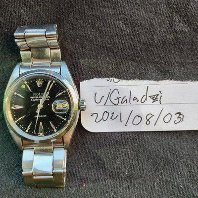 [WTS] Rolex Oyster Perpetual Explorer date 39 515588 Model#1530 1961. black dial only made for Commonwealth countries (very uncommon just try finding another one)